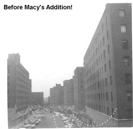 Macy's before addition